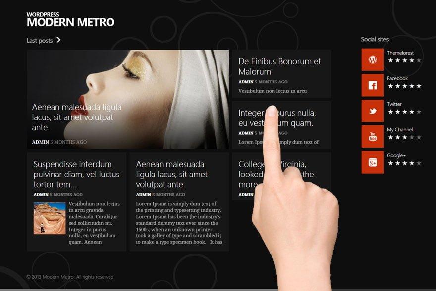 Paginas web tactiles barcelona