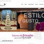 Diseño web salón de bodas en Castellón