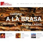 Diseño web restaurante barcelona