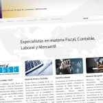 Diseño web Mataró Asesoría. Barcelona