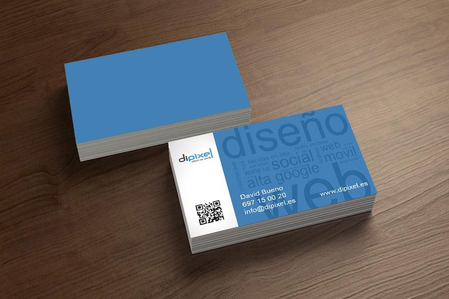 diseño tarjetas dipixel