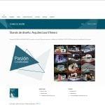 diseño página web trazos
